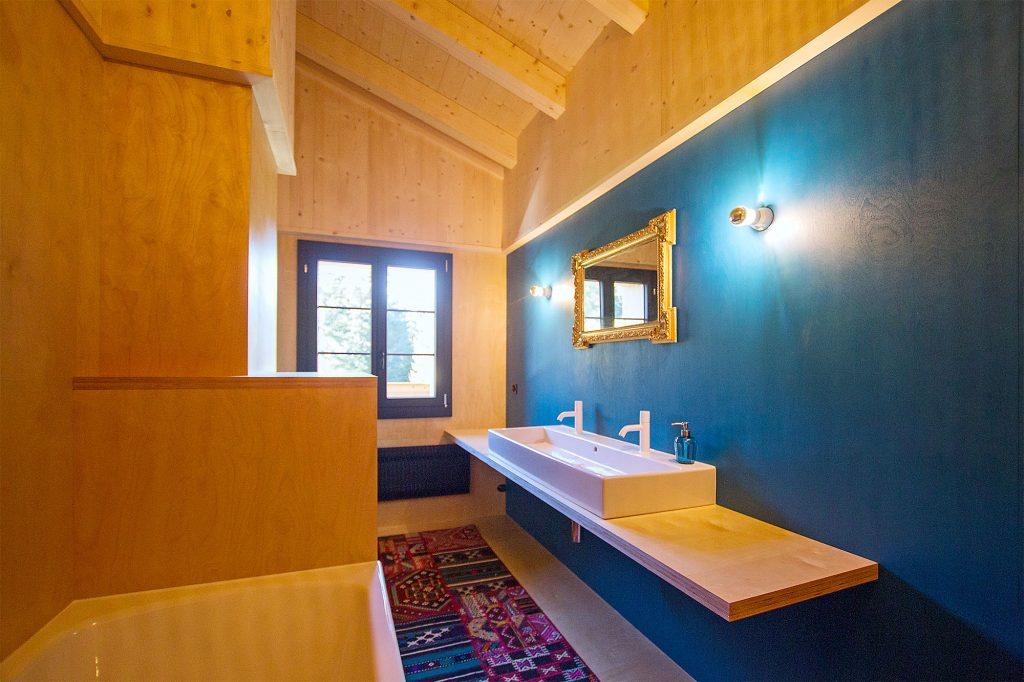 Lochstafel Badezimmer