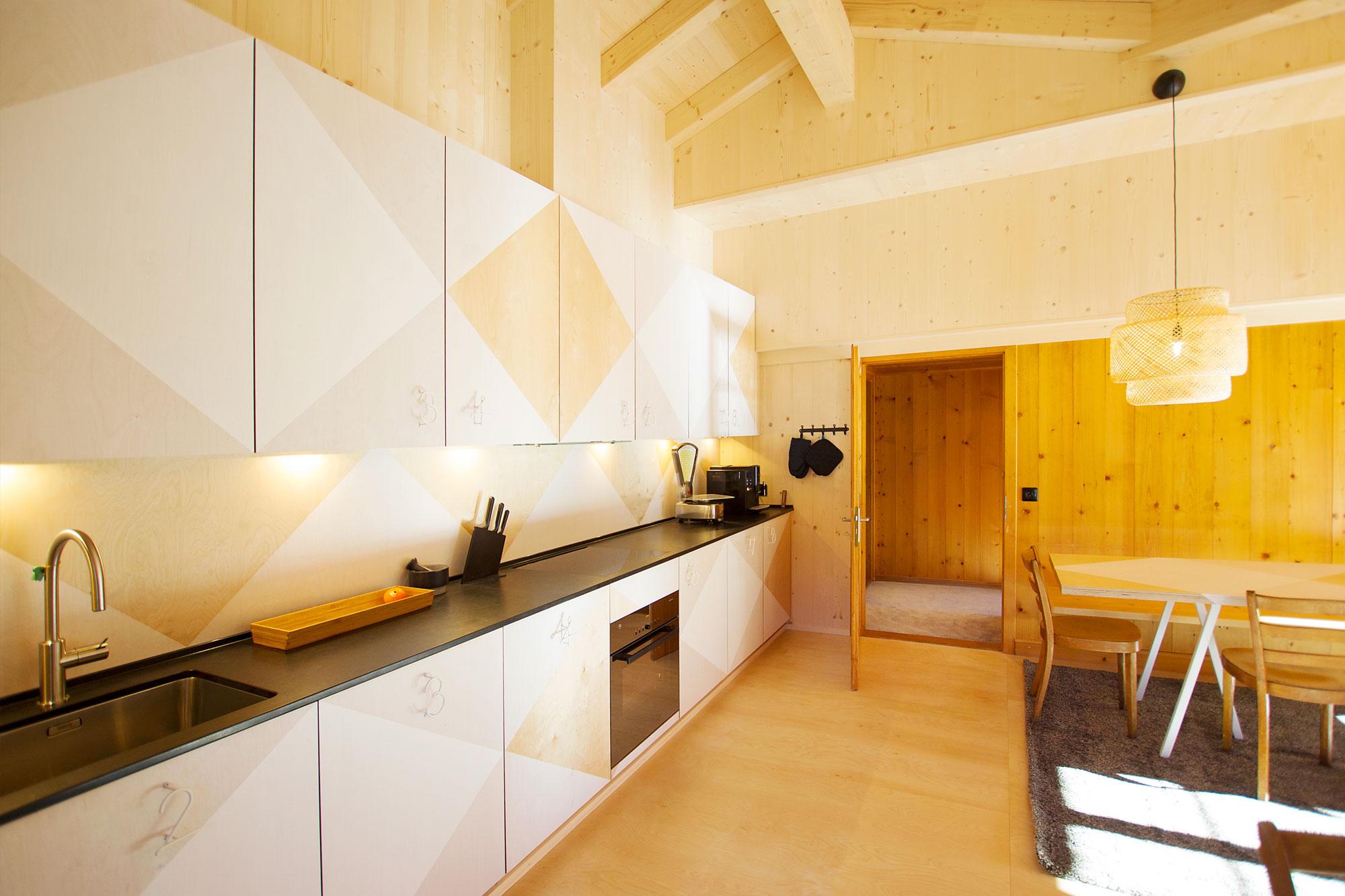 Lochstafel Küche